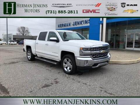 2017 Chevrolet Silverado 1500 for sale at Herman Jenkins Used Cars in Union City TN
