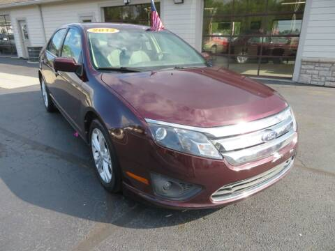 2012 Ford Fusion for sale at Tri-County Pre-Owned Superstore in Reynoldsburg OH