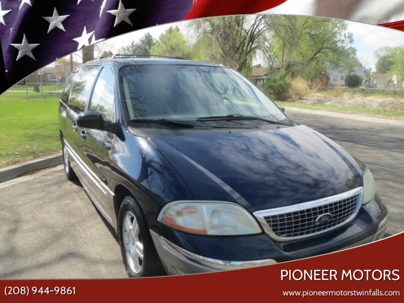 2002 Ford Windstar for sale at Pioneer Motors in Twin Falls ID