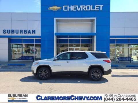 2021 Chevrolet Traverse for sale at Suburban Chevrolet in Claremore OK