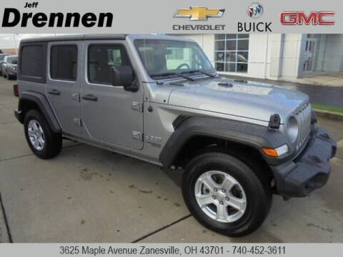 2018 Jeep Wrangler Unlimited for sale at Jeff Drennen GM Superstore in Zanesville OH