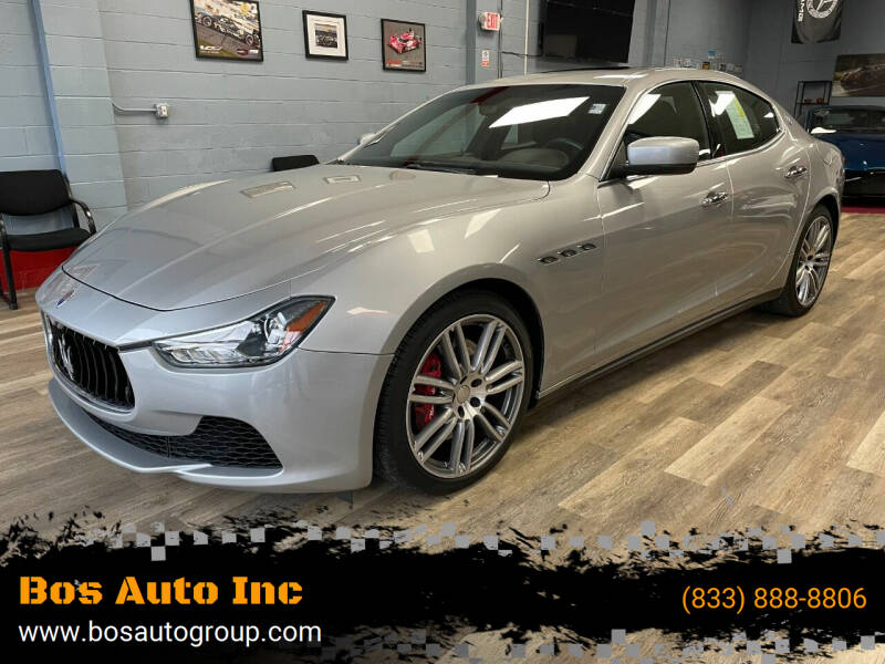 2016 Maserati Ghibli for sale at Bos Auto Inc in Quincy MA