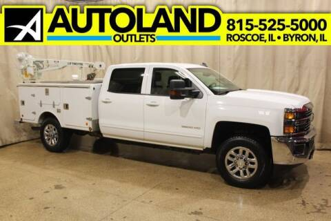 2017 Chevrolet Silverado 3500HD for sale at AutoLand Outlets Inc in Roscoe IL