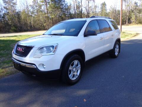 2012 GMC Acadia for sale at CAROLINA CLASSIC AUTOS in Fort Lawn SC