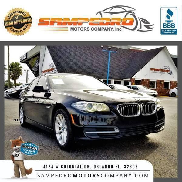 2014 BMW 5 Series for sale at SAMPEDRO MOTORS COMPANY INC in Orlando FL
