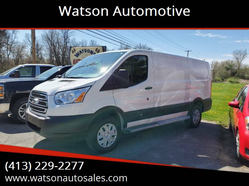 2019 Ford Transit Cargo for sale at Watson Automotive in Sheffield MA