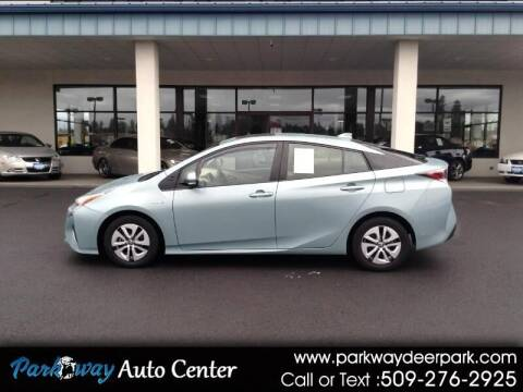 2016 Toyota Prius for sale at PARKWAY AUTO CENTER AND RV in Deer Park WA