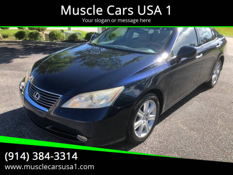 2007 Lexus ES 350 for sale at Muscle Cars USA 1 in Murrells Inlet SC