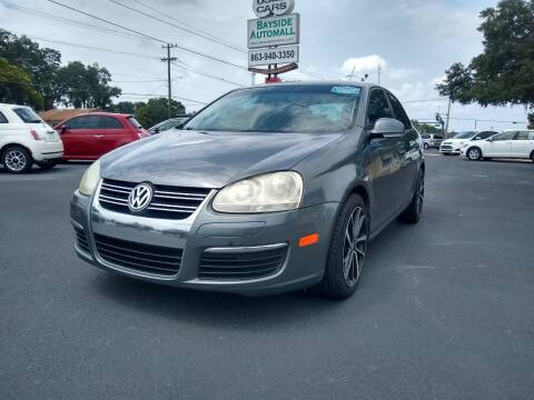 2008 Volkswagen Jetta for sale at BAYSIDE AUTOMALL in Lakeland FL