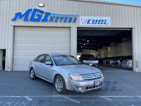 2008 Ford Taurus for sale at MGI Motors in Sacramento CA