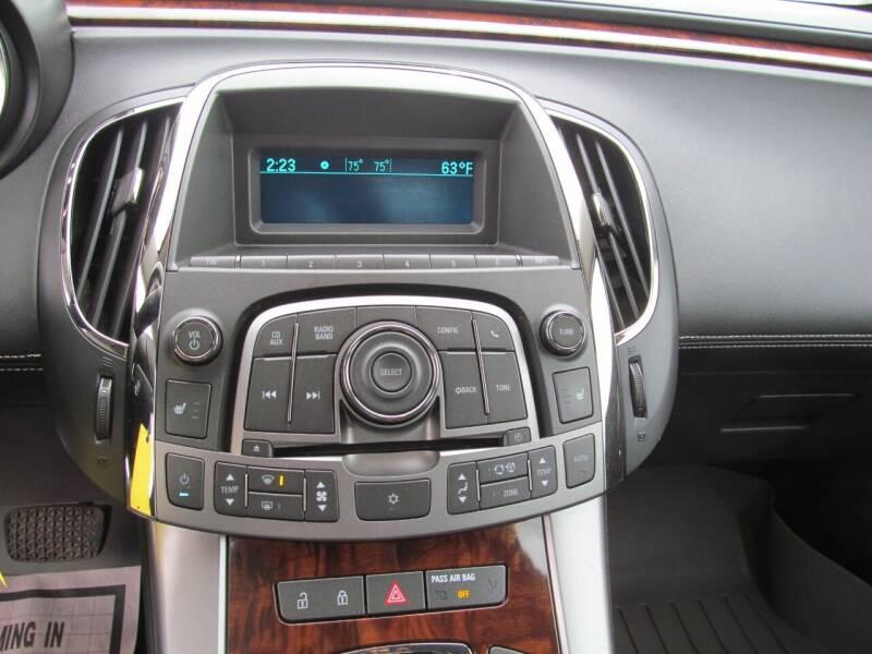 2010 Buick LaCrosse CXL 4dr Sedan - Stanton MI