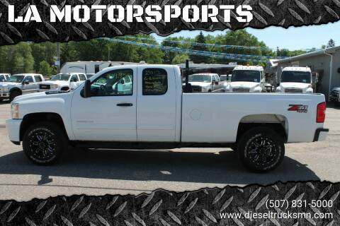 2013 Chevrolet Silverado 3500HD for sale at LA MOTORSPORTS in Windom MN