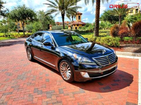 2015 Hyundai Equus for sale at DRIVELUX in Port Charlotte FL
