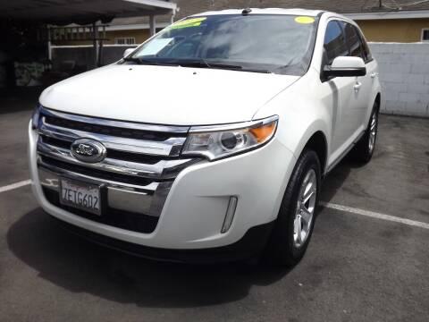 2013 Ford Edge for sale at PACIFICO AUTO SALES in Santa Ana CA