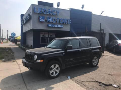 2012 Jeep Patriot for sale at Legacy Motors in Detroit MI