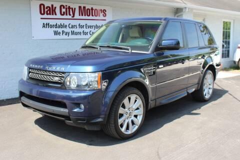 2013 Land Rover Range Rover Sport for sale at Oak City Motors in Garner NC