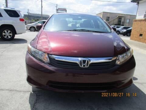 2012 Honda Civic for sale at Atlantic Motors in Chamblee GA
