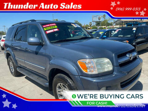 2005 Toyota Sequoia for sale at Thunder Auto Sales in Sacramento CA