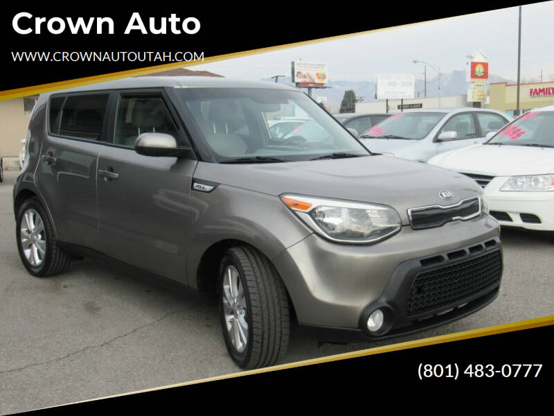 2016 Kia Soul for sale at Crown Auto in South Salt Lake City UT