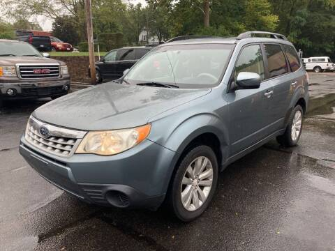 2011 Subaru Forester for sale at Borderline Auto Sales in Loveland OH