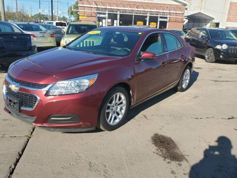 2015 Chevrolet Malibu for sale at Liberty Auto Show in Toledo OH