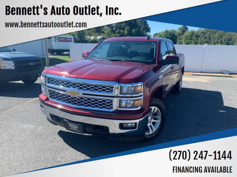 2015 Chevrolet Silverado 1500 for sale at Bennett's Auto Outlet, Inc. in Mayfield KY