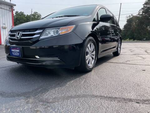 2015 Honda Odyssey for sale at Certified Auto Exchange in Keyport NJ