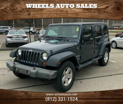 2008 Jeep Wrangler Unlimited for sale at Wheels Auto Sales in Bloomington IN