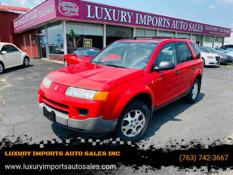 2004 Saturn Vue for sale at LUXURY IMPORTS AUTO SALES INC in North Branch MN
