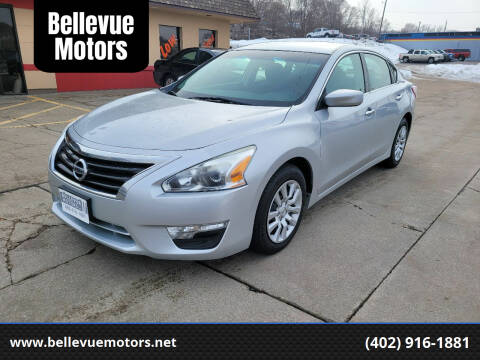 2013 Nissan Altima for sale at Bellevue Motors in Bellevue NE