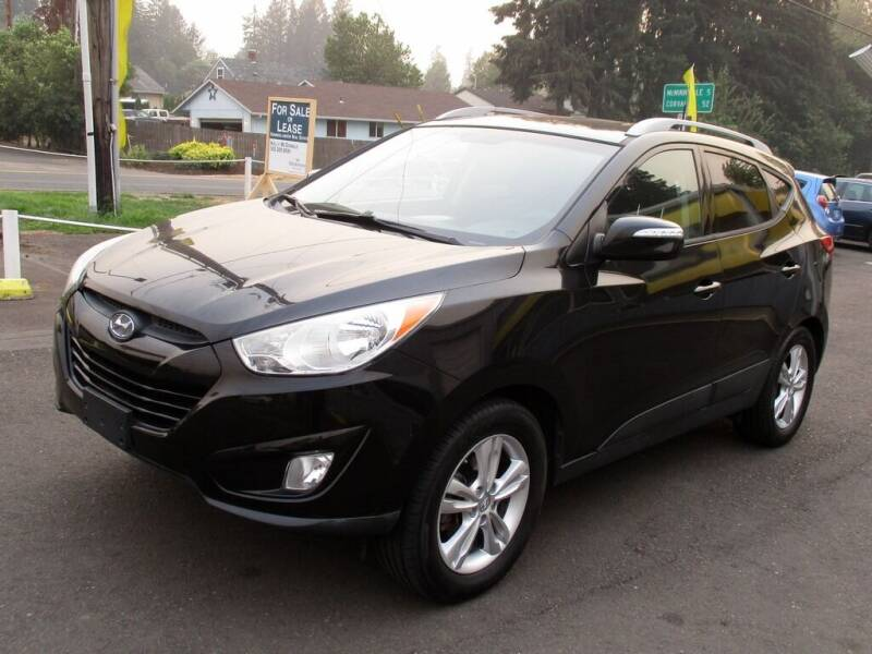 2013 Hyundai Tucson for sale at Yellow Line Motors in Lafayette OR