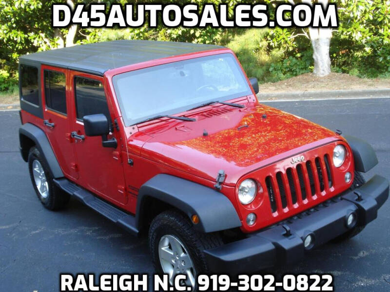 2014 Jeep Wrangler Unlimited for sale at D45 Auto Brokers in Raleigh NC