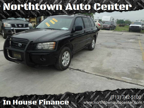 2003 Toyota Highlander for sale at Northtown Auto Center in Houston TX