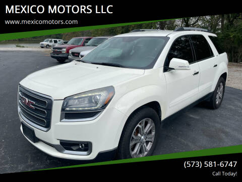 2014 GMC Acadia for sale at MEXICO MOTORS LLC in Mexico MO
