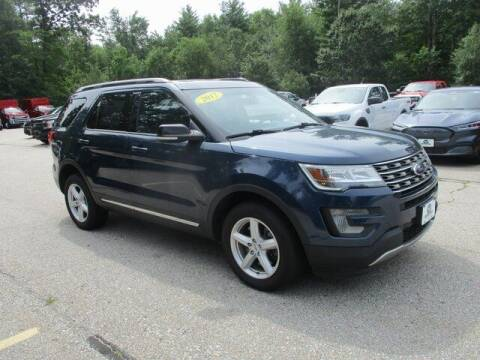 2017 Ford Explorer for sale at MC FARLAND FORD in Exeter NH