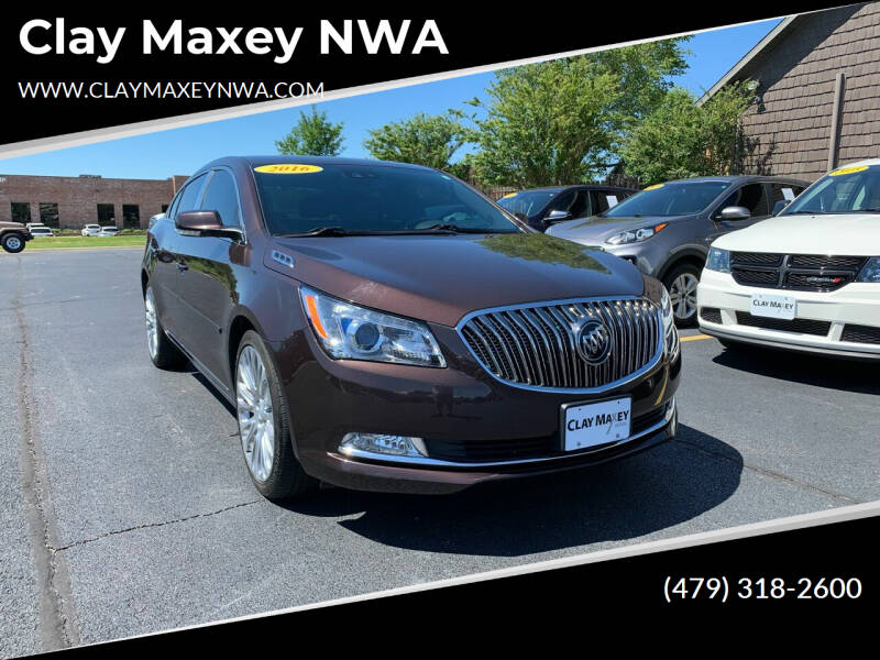 2016 Buick LaCrosse for sale at Clay Maxey NWA in Springdale AR