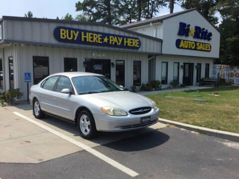 2003 Ford Taurus for sale at Bi Rite Auto Sales in Seaford DE