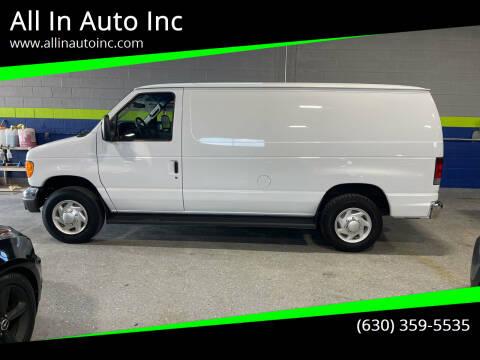 2007 Ford E-Series Cargo for sale at All In Auto Inc in Addison IL