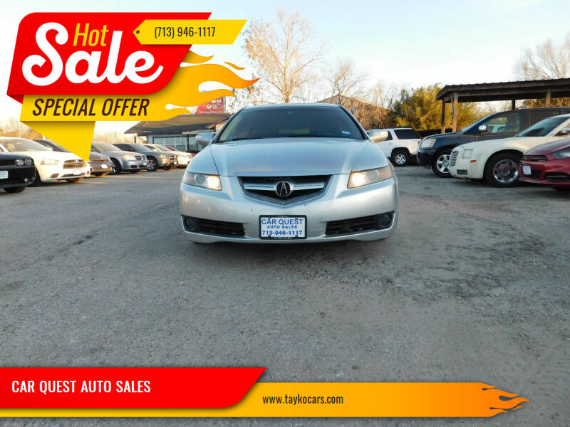2008 Acura TL for sale at CAR QUEST AUTO SALES in Houston TX
