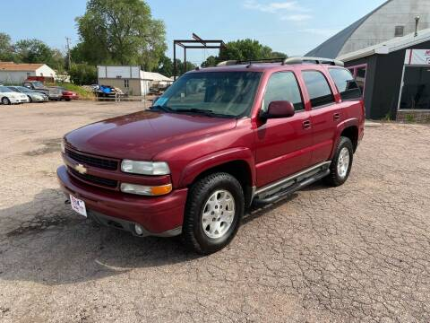 2004 Chevrolet Tahoe for sale at More 4 Less Auto in Sioux Falls SD