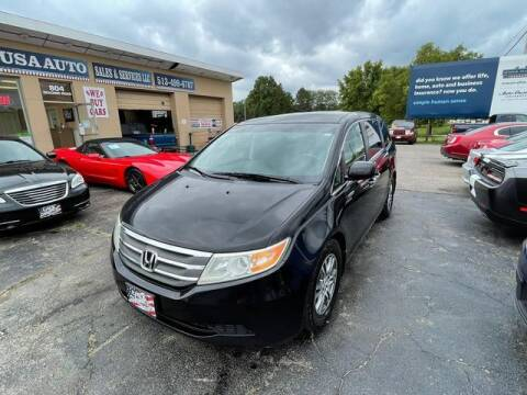 2012 Honda Odyssey for sale at USA Auto Sales & Services, LLC in Mason OH