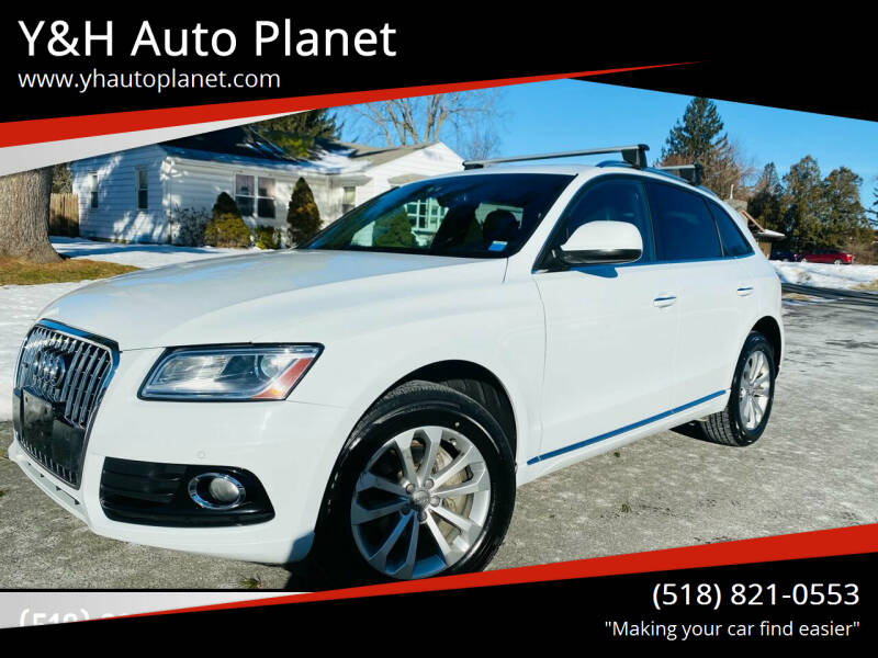 2015 Audi Q5 for sale at Y&H Auto Planet in West Sand Lake NY