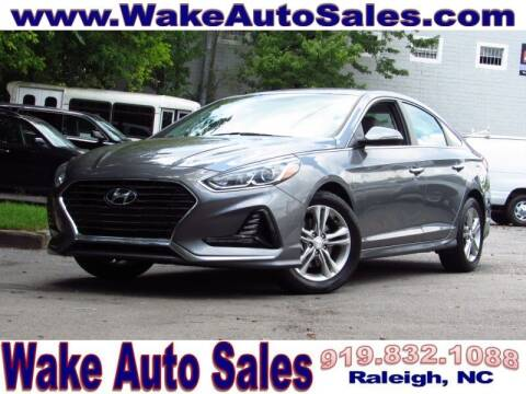 2018 Hyundai Sonata for sale at Wake Auto Sales Inc in Raleigh NC