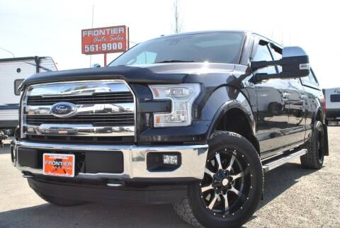 2015 Ford F-150 for sale at Frontier Auto & RV Sales in Anchorage AK