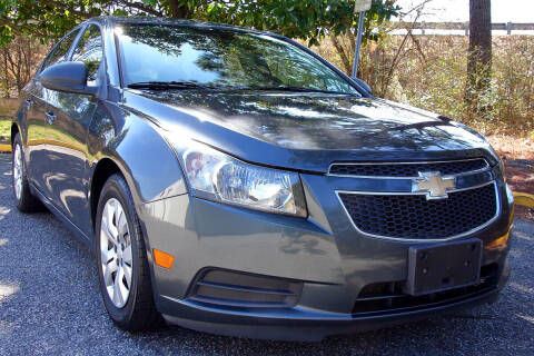 2013 Chevrolet Cruze for sale at Prime Auto Sales LLC in Virginia Beach VA