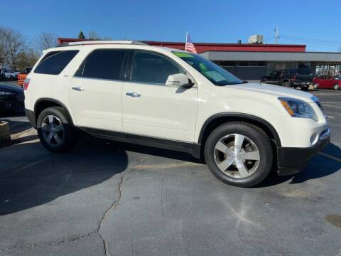 2012 GMC Acadia for sale at Stach Auto in Edgerton WI