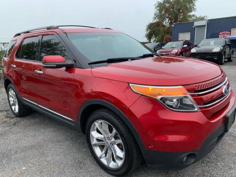 2012 Ford Explorer for sale at TD MOTOR LEASING LLC in Staten Island NY