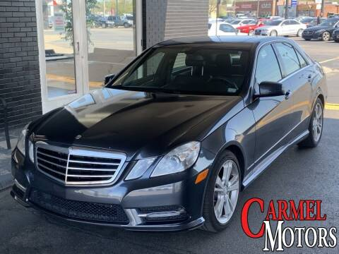 2013 Mercedes-Benz E-Class for sale at Carmel Motors in Indianapolis IN