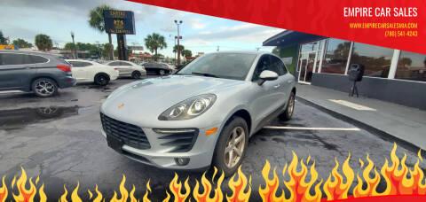 2017 Porsche Macan for sale at Empire Car Sales in Miami FL
