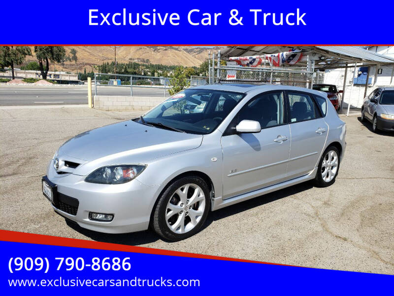 2008 Mazda MAZDA3 for sale at Exclusive Car & Truck in Yucaipa CA